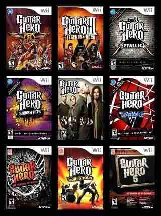 Descargar Guitar Hero Collection [MULTI5][WBFS][USA][acamo] por Torrent